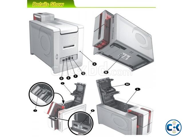 All accessories of Evolis Primacy Securion card printer   ClickBD large image 3
