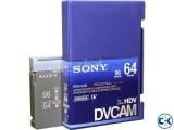 Sony DVCAM 64