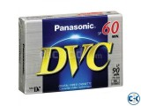 Panasonic mini dv tape way-dvm6off