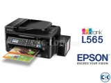Epson L-565 All-In-One 33PPM Wi-Fi Color Inkjet Printer