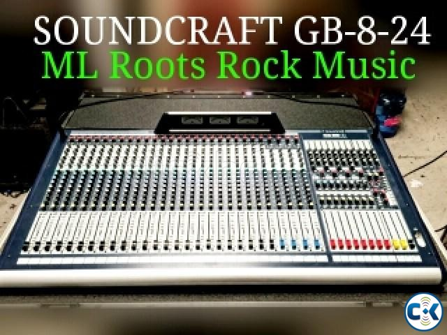 Soundcraft GB 8-24 with flight case | ClickBD large image 0