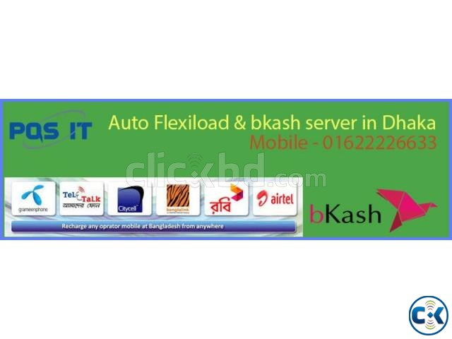 Auto flexiload bkash Server Software in Dhaka | ClickBD large image 0