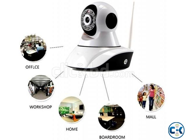 Wifi Wireless HD IP Camera Network IP Cam price in Banglades | ClickBD large image 0