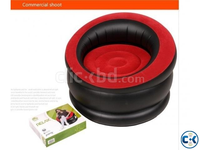 Portable Comfort Single Round Sofa FREE Pumper | ClickBD large image 3