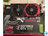 MSI GeForce GTX 970 4GB OC Gaming X