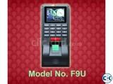 F9U Fingerprint Access Control Machine