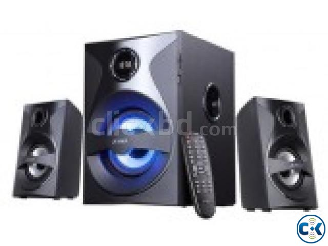F D F380X USB SD Card Reader Bluetooth Multimedia Speaker | ClickBD large image 0