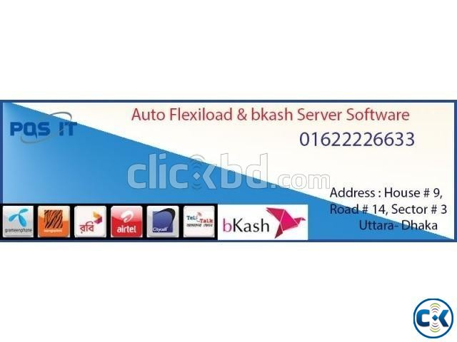 Auto flexiload bkash Server | ClickBD large image 0