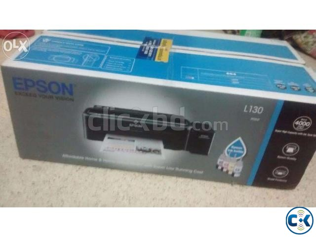 Epson L130 Inkjet Printer | ClickBD large image 0