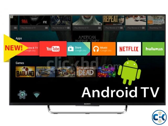Sony Bravia W800C 55 Wi-Fi Internet FHD 3D LED Android TV | ClickBD large image 1