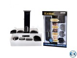Kemei KM-3580 4-In-1 Grooming Trimmer Shaver Set