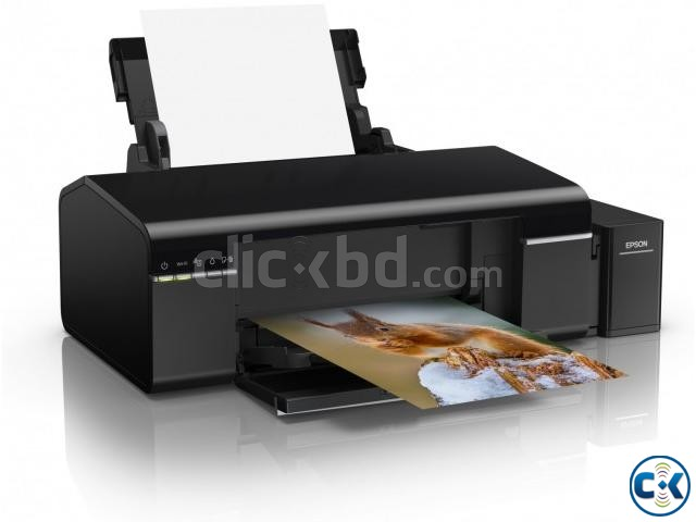 Epson L805 6 Color Wireless Ink Refill Photo Printer | ClickBD large image 1