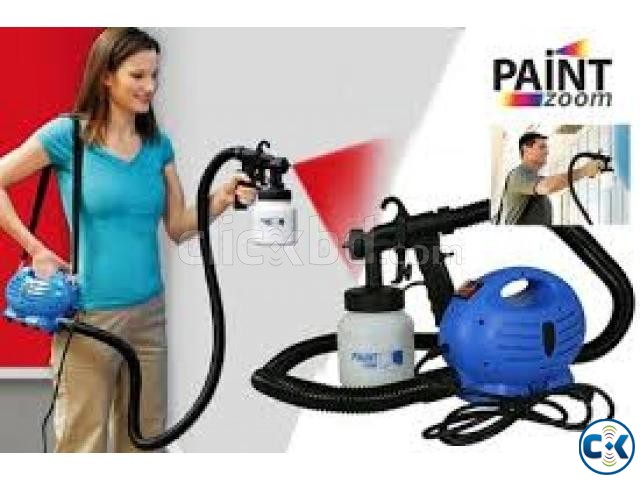 paint zoom professional electric paint sprayer paint gun clickbd. Black Bedroom Furniture Sets. Home Design Ideas
