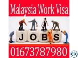 Malaysia work permit visa Malaysia work
