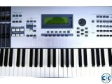 Yamaha Motif ES 6 with iPad Mini wifi cellular