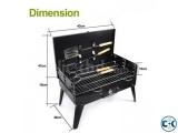 Portable Manual BBQ Set