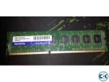 ADATA 4GB ddr3 1333mhz cl9 RAM