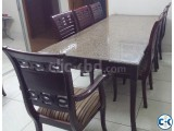 8 seater luxurious granite dining table for sale