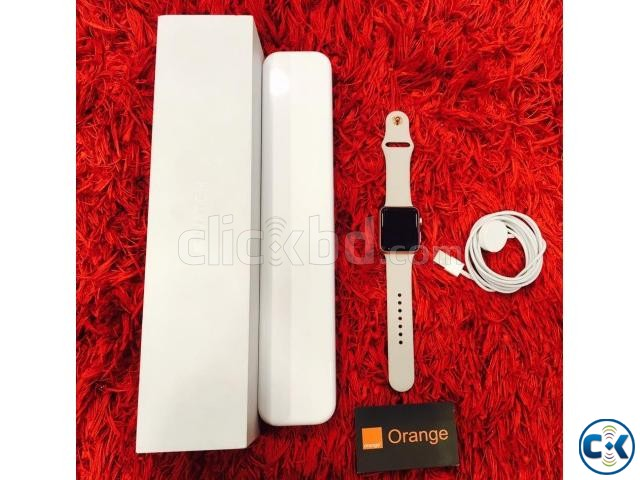 apple watch 42mm sports rose gold edition boxed | ClickBD large image 1