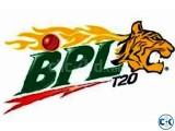 BPL FINAL TICKETS.....December 09 2016 -