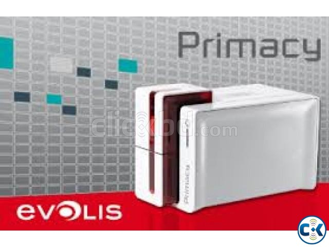 Evolis Praimacy PVC Edge-To-Edge Dual Side Card Printer | ClickBD large image 1