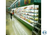 Commercial Fruits Display Refrigerator System in Bangladesh