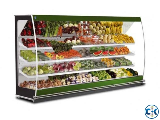 Commercial Fruits Display Refrigerator System in Bangladesh | ClickBD large image 1