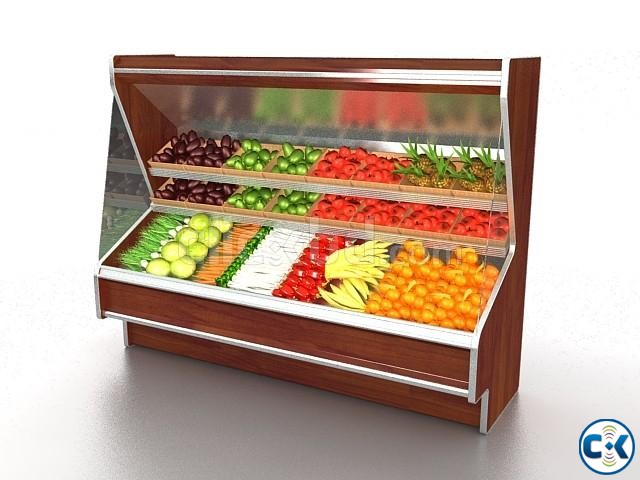Commercial Fruits Display Refrigerator System in Bangladesh | ClickBD large image 3