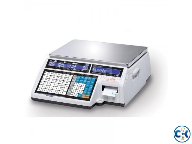 Digital Weighing Scale With Label Printer in Bangladesh | ClickBD large image 1
