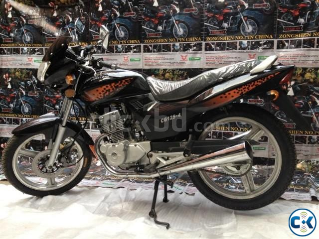 Zongshen Street Bike CG-125-4. With Free Registration Offer | ClickBD large image 2