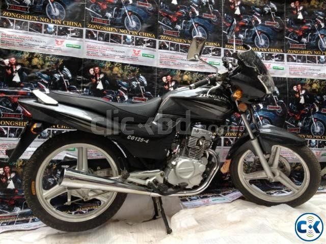 Zongshen Street Bike CG-125-4. With Free Registration Offer | ClickBD large image 3