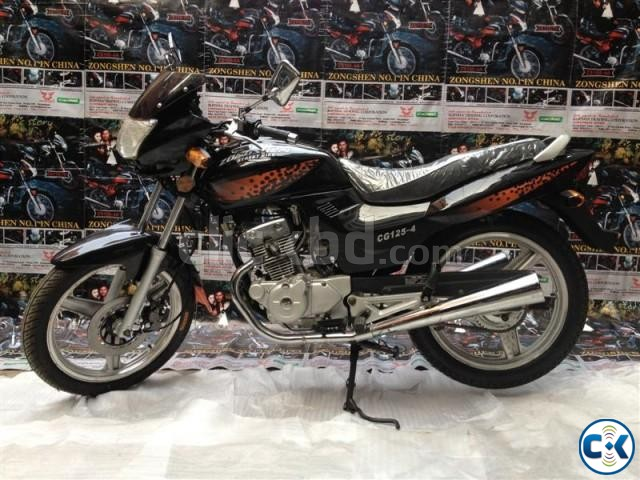 Zongshen Street Bike CG-125-4. With Free Registration Offer | ClickBD large image 4