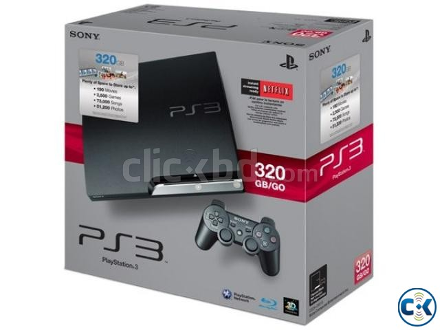 PS3 320GB Modded console full fresh with warranty | ClickBD large image 0