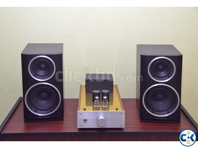 Wharfedale Bookshelf Speaker High End Hybrid Tube Amplifier