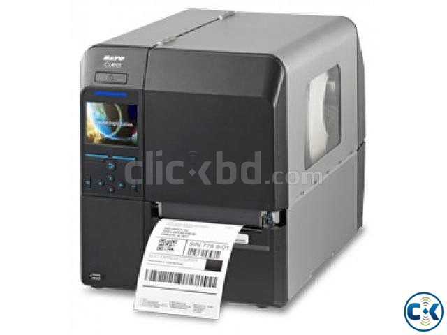 Sato CL4NX 203 Dpi Industrial Barcode Thermal Label Printer | ClickBD large image 0