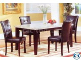 Marbel Table With 4 Chare