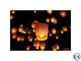 Pack Of 10 Pieces Sky Lantern (Fanush)