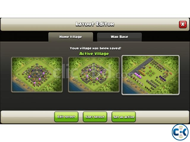 Clash of Clans TH Town Hall 9 Full Max for sale | ClickBD large image 3