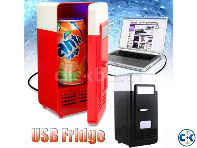 Travel Portable Fridge Mini Power by usb mobile charger | ClickBD large image 0