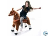 Pony Cycle Brown Ride-On Toy Horse-
