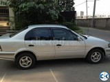 A very good condition Toyota Corsa car for sell