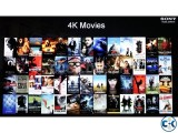 4K MOVIES Contents FOR LED 3D 4K TV