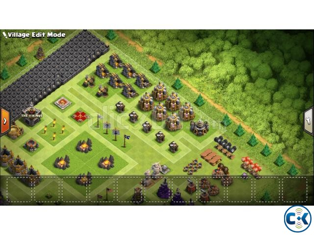 Clash of Clans TH Town Hall 9 Full Max | ClickBD large image 2