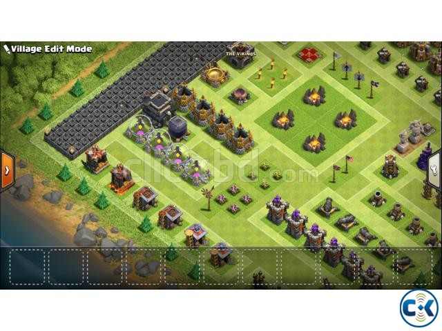 Clash of Clans TH Town Hall 9 Full Max | ClickBD large image 4