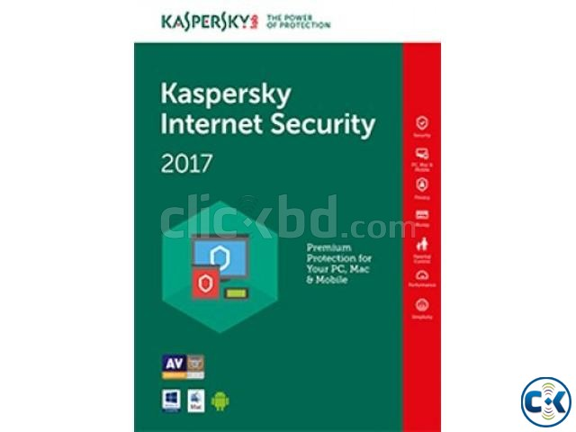 Kaspersky Internet Security 2017 1 User | ClickBD large image 0