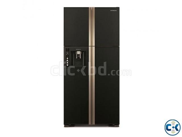 HITACHI R-W720FPMSX Multi-Door Smart Fridge | ClickBD large image 0