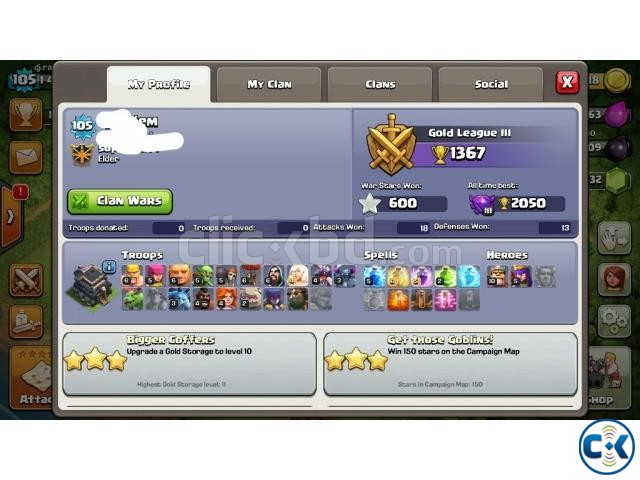 clash of clan id | ClickBD large image 0