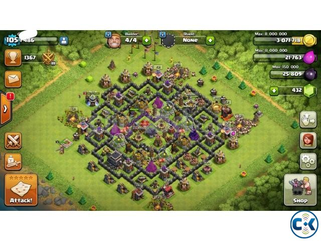 clash of clan id | ClickBD large image 1