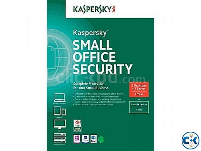 Kaspersky Small Office Security 4 5 User | ClickBD large image 0
