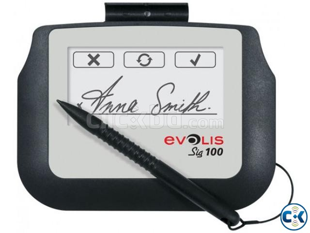 Evolis Signature Pad Sig100 with SDK Origina | ClickBD large image 1
